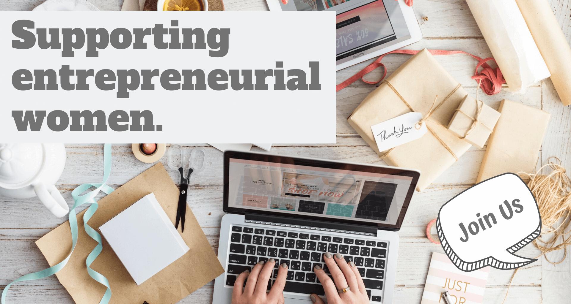 Supporting entrepreneurial women